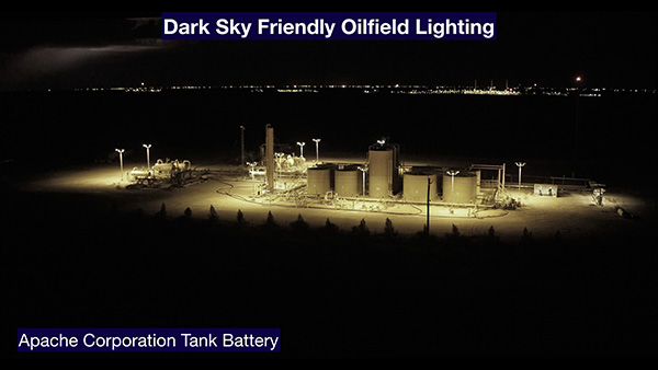 Dark Sky Oilfield Lighting